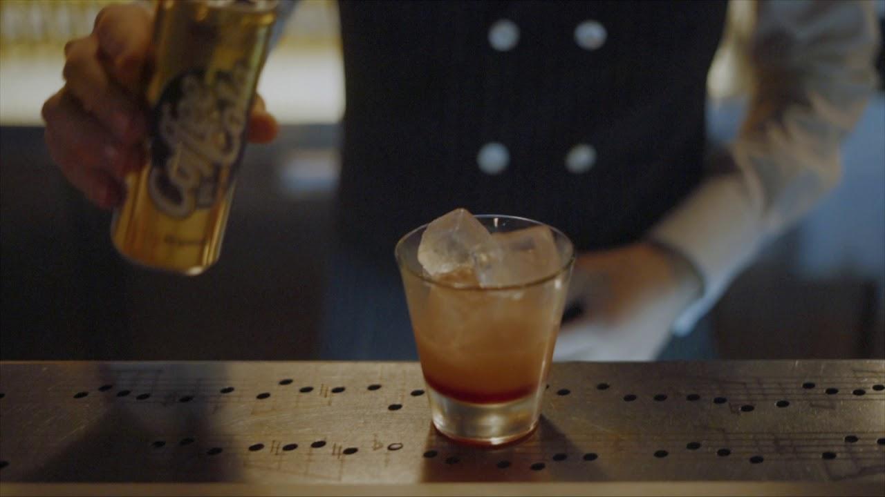 Кофе Кола и безалкогольный микс с грейпфрутом. Прохладительный коктейль от Coffee Cola.