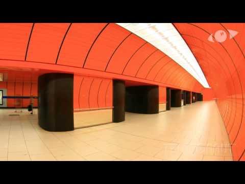 Munich Underground Timelapse
