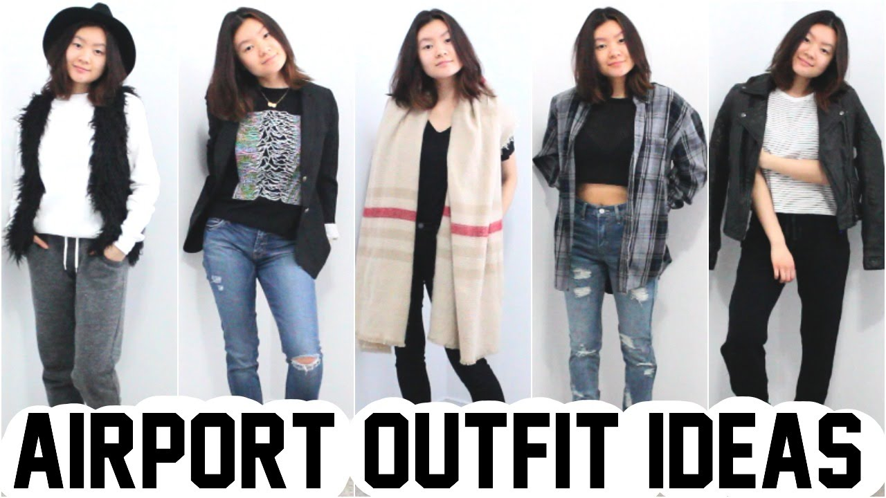 b74c98d08d WHAT TO WEAR TO THE AIRPORT!! // OUTFIT IDEAS - YouTube