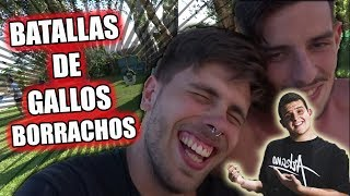 ¡BATALLAS DE GALLOS EN UNA FIESTA! Vlog de PARTY