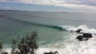 60 second wave ride @ the Pass Byron Bay