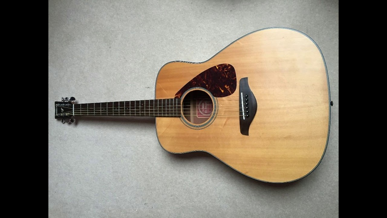 Yamaha Fg700s Acoustic Guitar Review Sound Test Blue Yeti