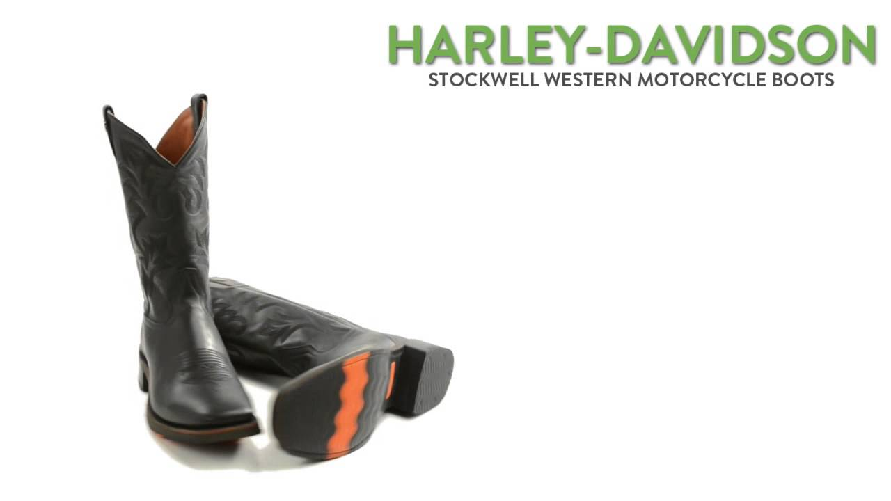 "a319a17433e Harley-Davidson Stockwell Western Motorcycle Boots - 11"" (For Men)"
