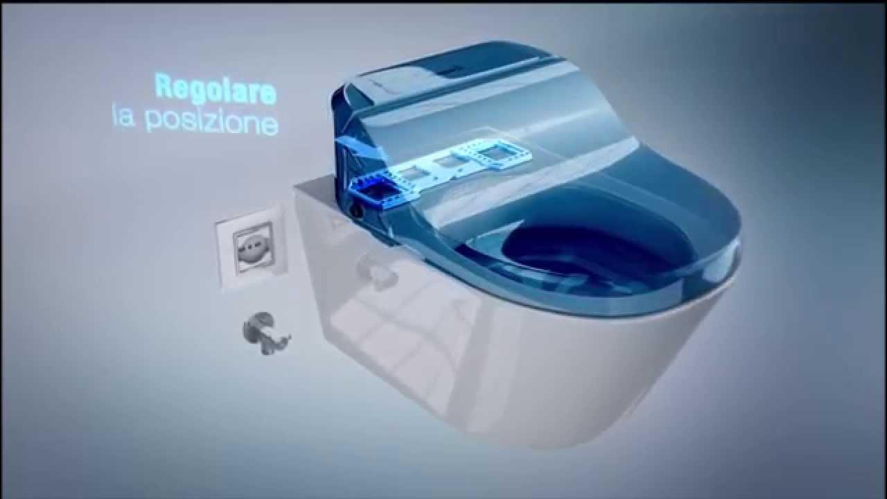 Water Con Bidet Incorporato Ideal Standard.Sedili Wc Bidet Installazione Youtube