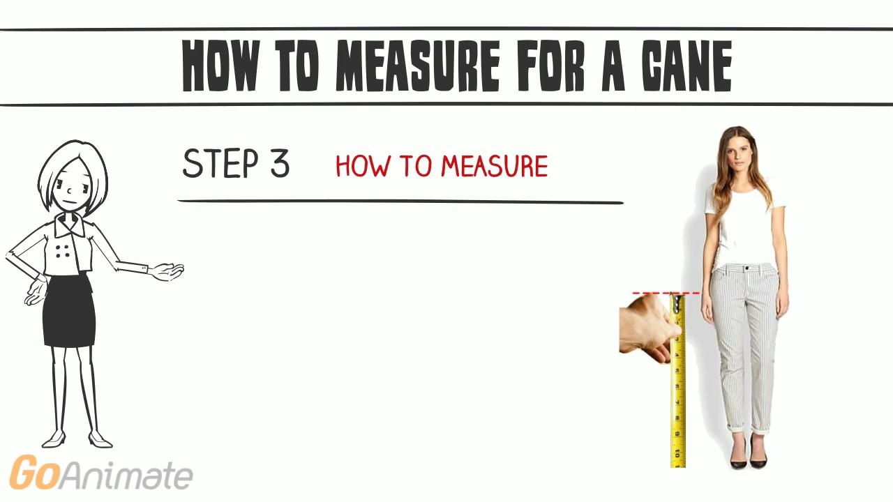 93d2d4efe28 How to measure for a cane - YouTube