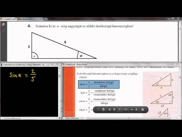 4. Feladat - Trigonometria