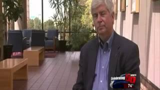 WZZM: Rick Snyder ducks questions on Bolger/Schmidt election fraud scheme