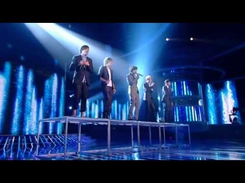 One Direction sing All You Need Is love  The X Factor  show 7 Full Version