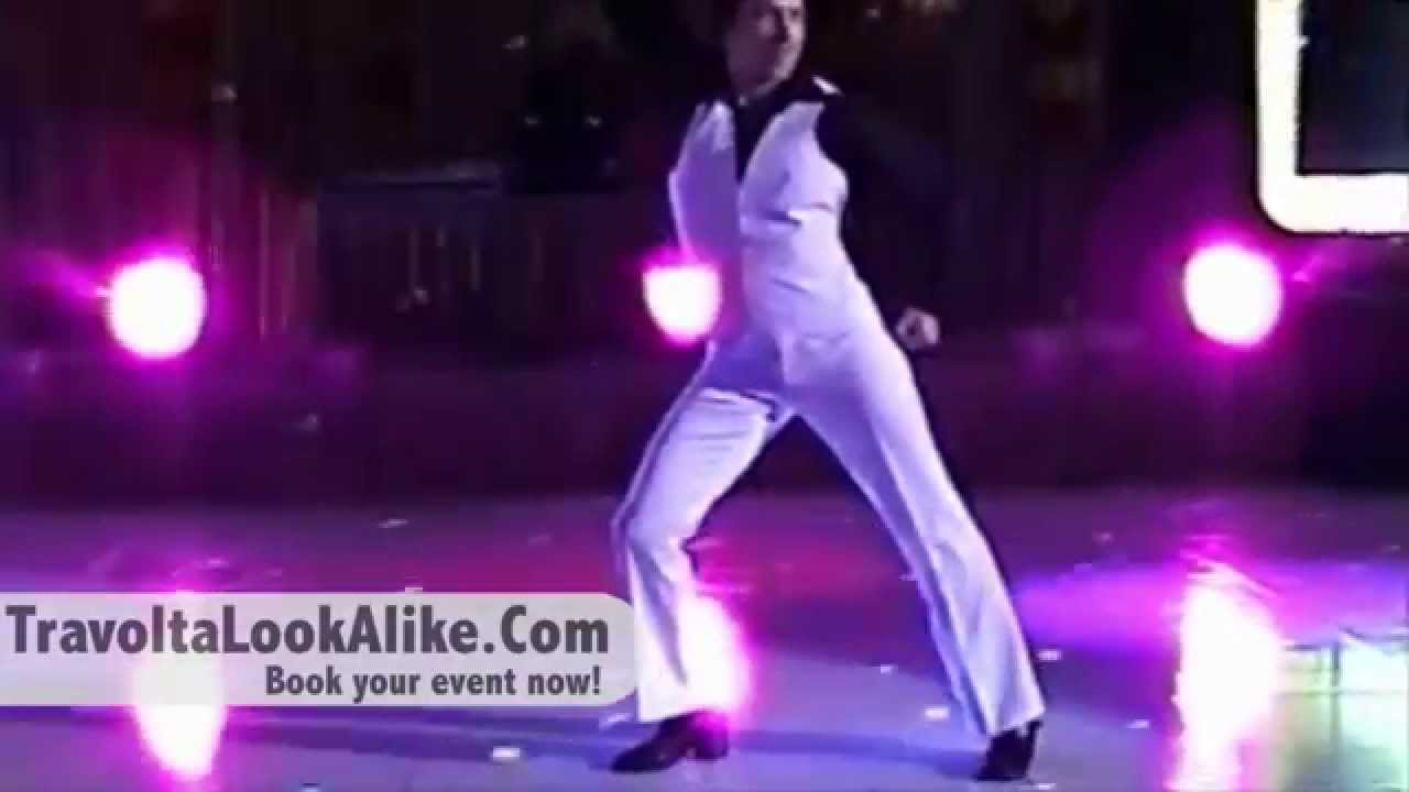 john travolta look alike busts out saturday night fever dance moves youtube. Black Bedroom Furniture Sets. Home Design Ideas
