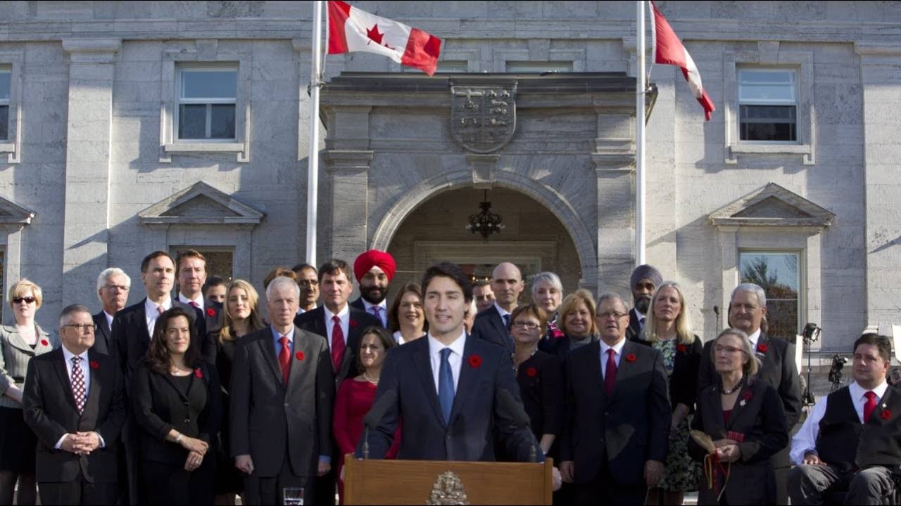 Because it's 2015': Justin Trudeau on gender-balanced cabinet ...