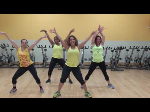 Push It, by Salt-N-Pepa, Choreography by Natalie Haskell for Dance Fitness