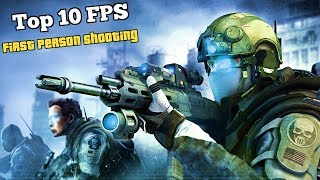Top 10 FPS(First Person Shooter) Multiplayer Games for iOS & Android via WiFi/Bluetooth