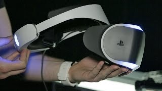 Playstation VR: Street Luge & Eve: Valkyrie Hands-On - E3 2014