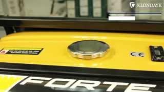 Бензиновый генератор Forte FG6500E(Бензиновый генератор Forte FG6500E Вы можете купить генератор Forte FG6500E в нашем магазине: http://www.klondayk.com.ua/ru/products/details/..., 2014-09-16T11:59:47.000Z)