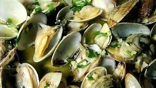 ALMEJAS AL VINO BLANCO | Recetas de Cocina