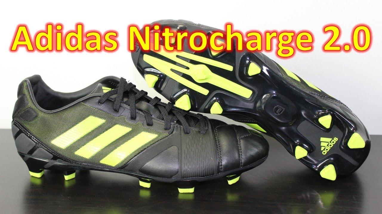 a71b0ba7f198 Adidas Nitrocharge 2.0 Black/Solar Slime - Unboxing + On Feet - YouTube