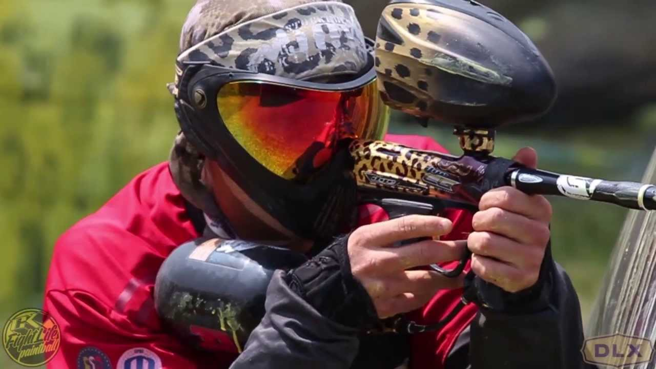 Millennium Series Pro Paintball from Germany and England - YouTube