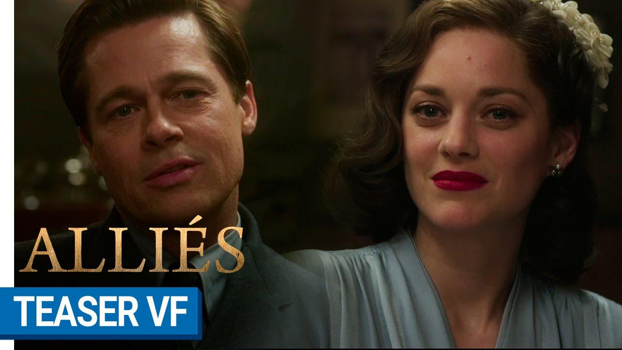 ALLIÉS - Teaser #1 (VF) [au cinéma le 23 novembre 2016]