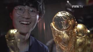 the fifa world cup trophy arrives in japan