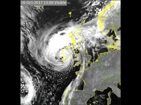 Hurricane Ophelia Wexford, Galway, Mayo, Clare, Cork, Waterford