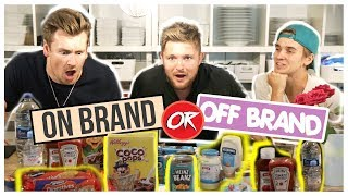 NAME BRAND vs GENERIC FOODS CHALLENGE