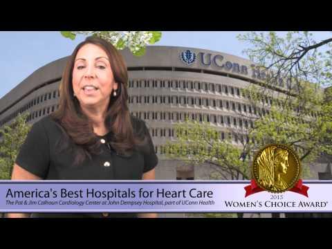 The Pat & Jim Calhoun Cardiology Center at John Dempsey Hospital part of UConn Health - 2015 WCA