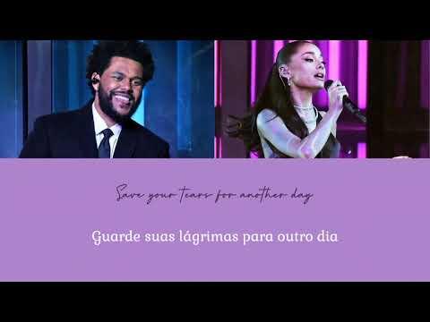 [Áudio-Live] The Weeknd, Ariana Grande - Save Your Tears (iHeartRadio Music Awards/Tradução PT-BR)