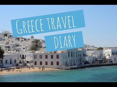 Greece travel diary