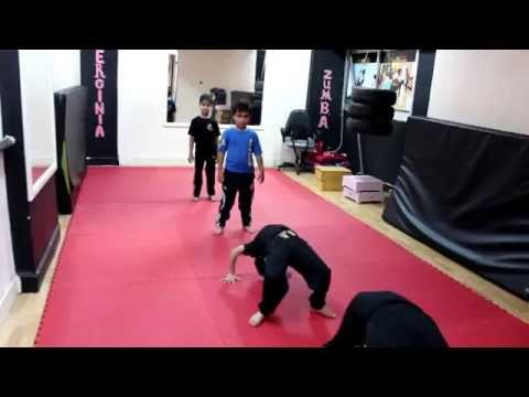 platinum wushu kung fu C/WAEL SAAD تدريب كابتن/ وائل سعد    كونغ فو جمباز اطفال