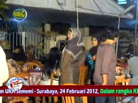 Dangdut HOT!! SUKMA BARETA - Surabaya *Kereta Malam, Ayu KDI *(240212)