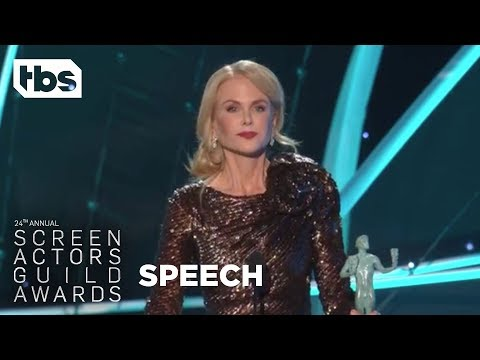 Nicole Kidman: Acceptance Speech | 24th Annual SAG Awards | TBS