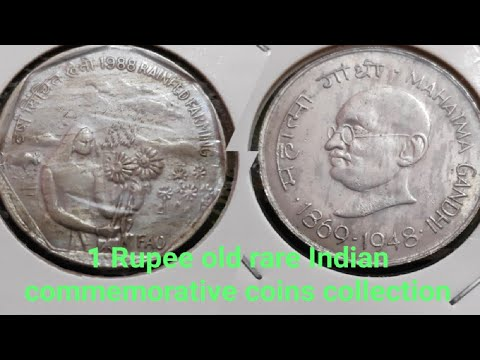 india-one-rupee-commemorative-coins-of-india
