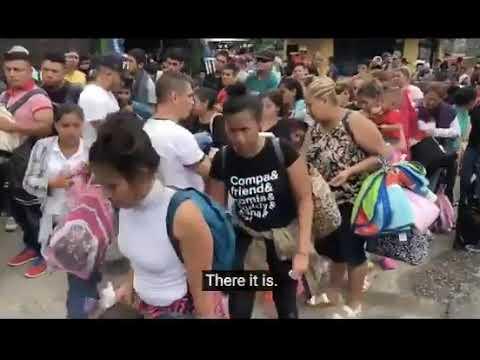 Garret Lewis - Honduran Migrants Being Paid Cash
