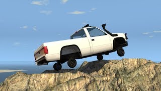 Beamng drive - Miniscule wheels Off roading