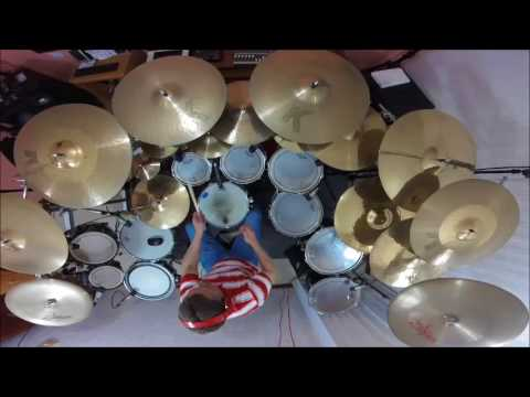 feels so good drum cover