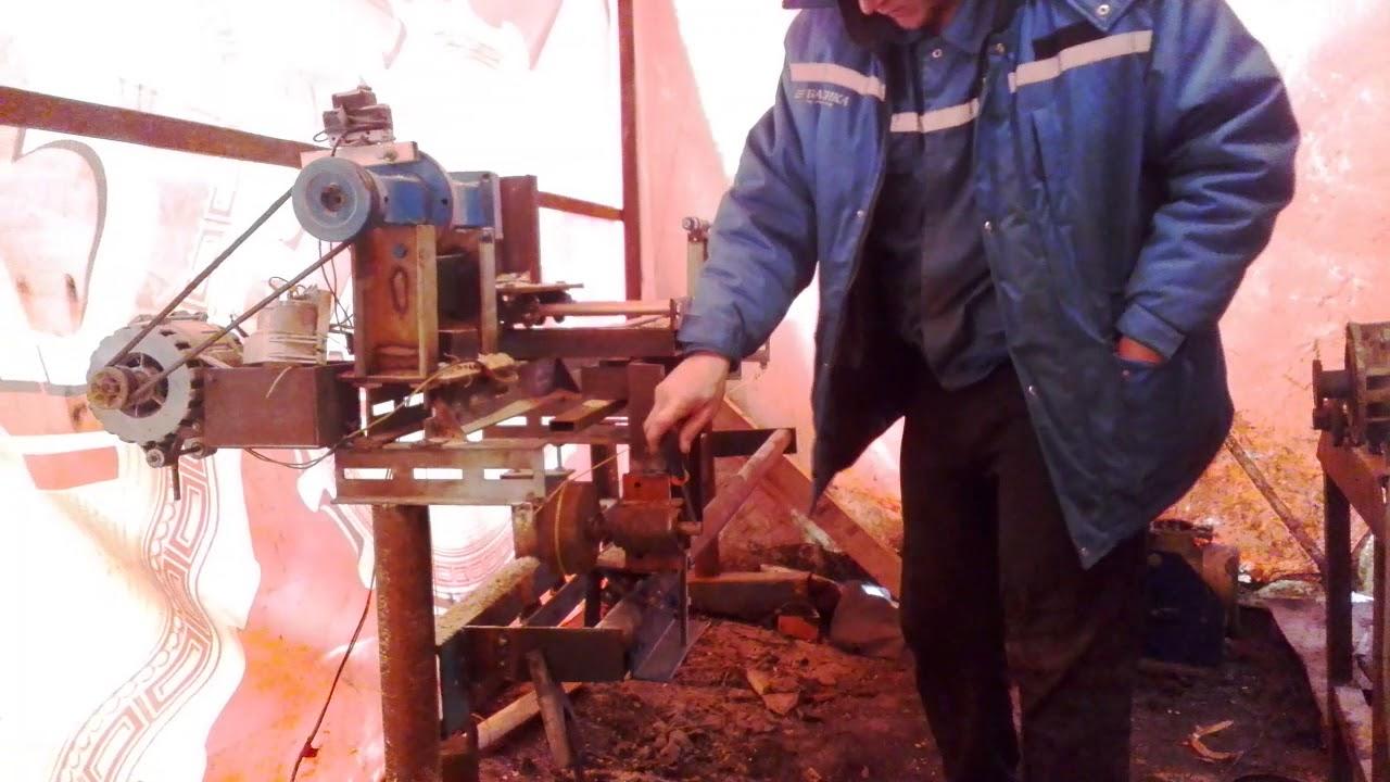 ч 8 токарный станок по металлу своими руками. установка .