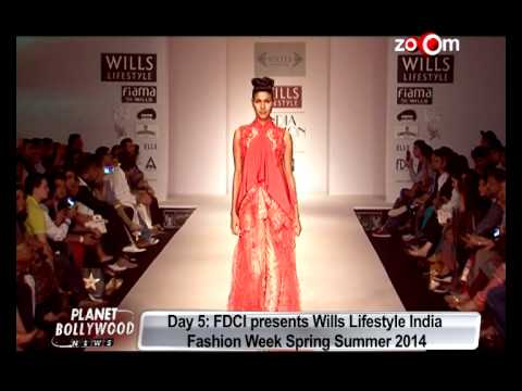Wills Lifestyle India Fashion Week Spring Summer 2014   Day 5   Bollywood News