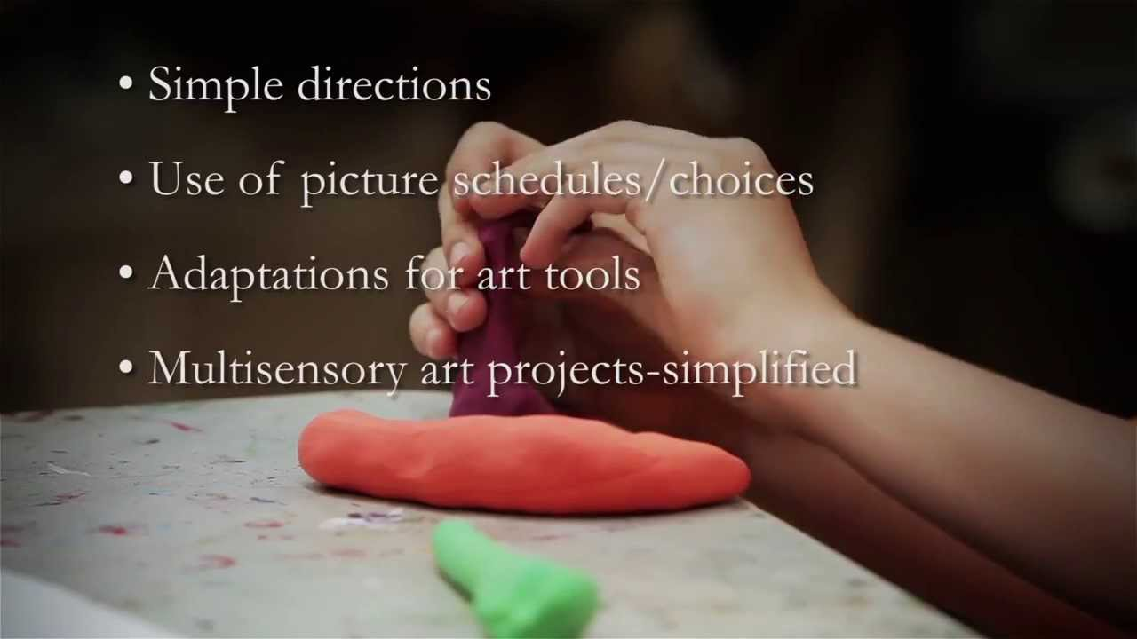 Art Lessons For Children With Disabilities Developmental