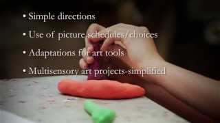 Art Lessons for Children with Disabilities: Developmental Disabilities