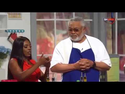 JJ Rawlings, Nana Aba and Yvonne Okoro Enjoy and Dance Azonto to Shata Wales Freedom