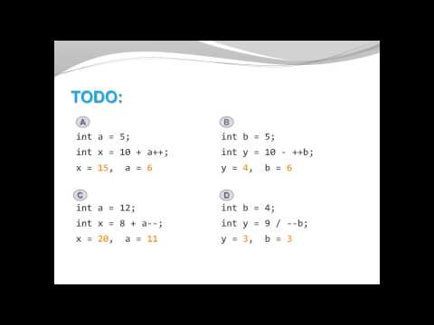 Java Basics - Increment Decrement Operators
