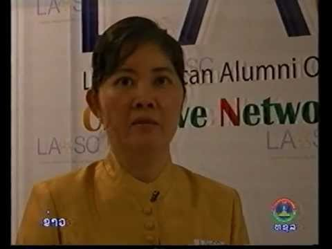 LAO-SC Ball featured on Lao National TV