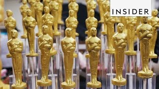 How Golden Chocolate Oscars are Made for the Academy Awards