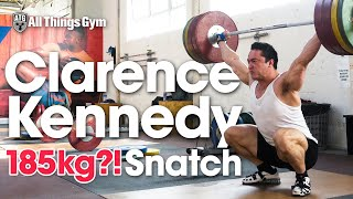Clarence Kennedy 185kg?! Heavy Snatch Session (Thursday Part 1 of 2)