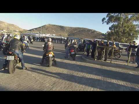 "Harley Seventy Two. Lloyd ""MZO"" Cloete funeral mass ride."