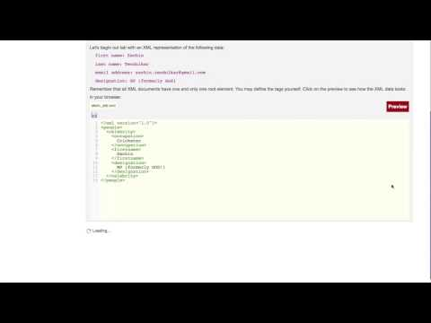 Web Page Design : XML Basics- Syntax, Elements, Attributes