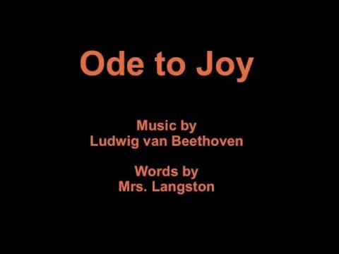 Ode to Joy for Recorder