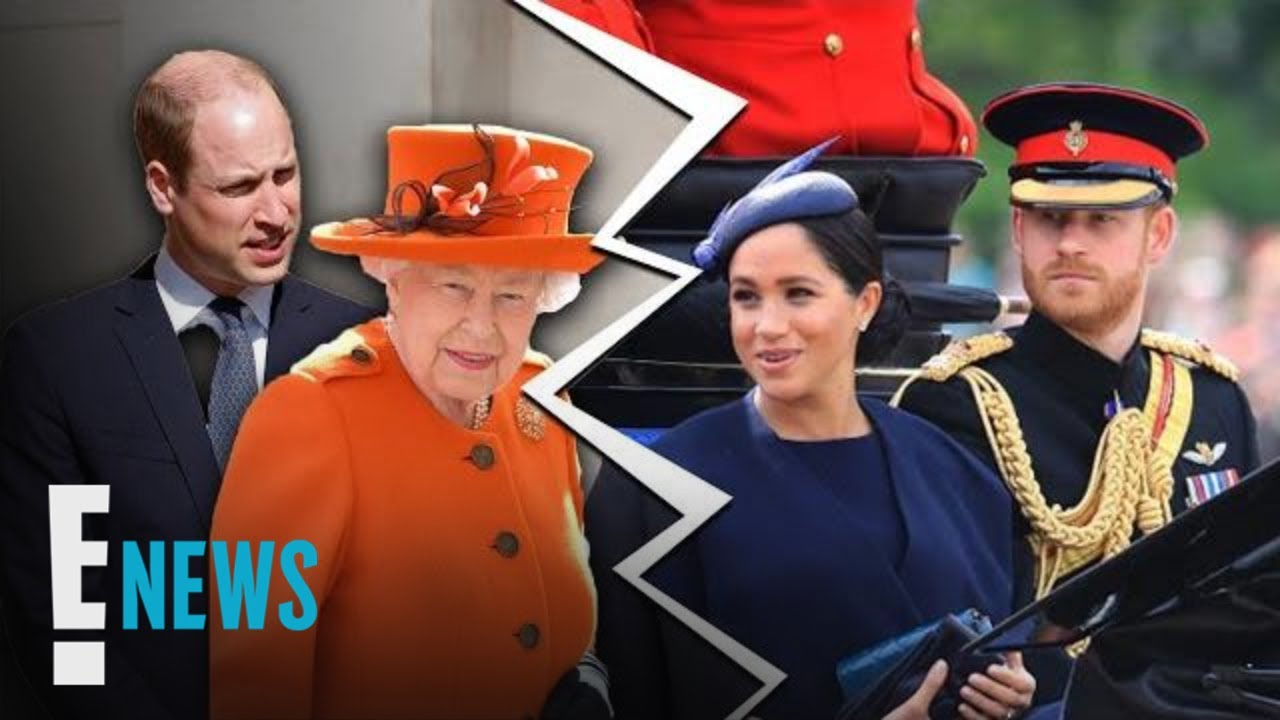 Queen Elizabeth II Finalizes Split, Harry & Meghan Will No Longer Use HRH Titles
