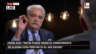 Jorge Asís entrevistado en