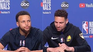 Stephen Curry Gives Up Down 3-1 Before Game 5 (Parody)